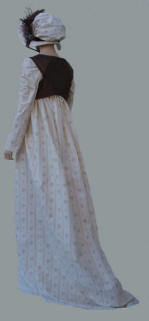 brown regency dress 006.jpg (23524 bytes)